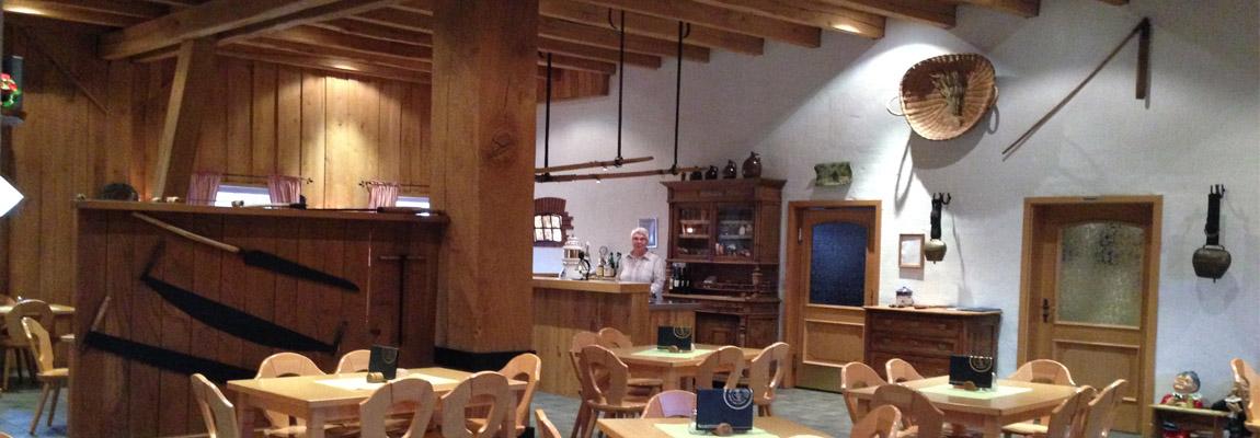 Der Innenraum unseres gemütlichen Cafes